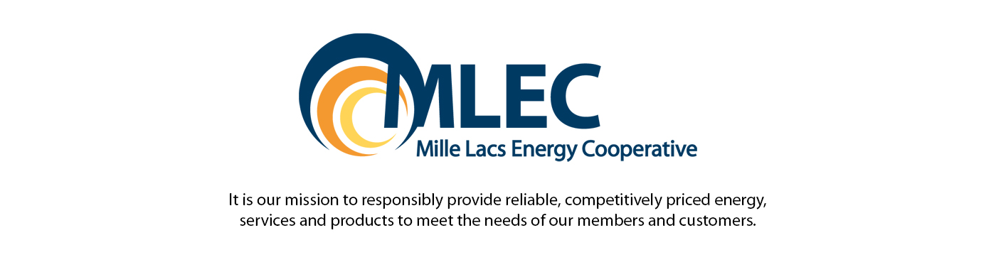 MLEC logo, It is our mission to responsibly provide reliable, competitively priced energy, services and products to meet the needs of our members and customers.